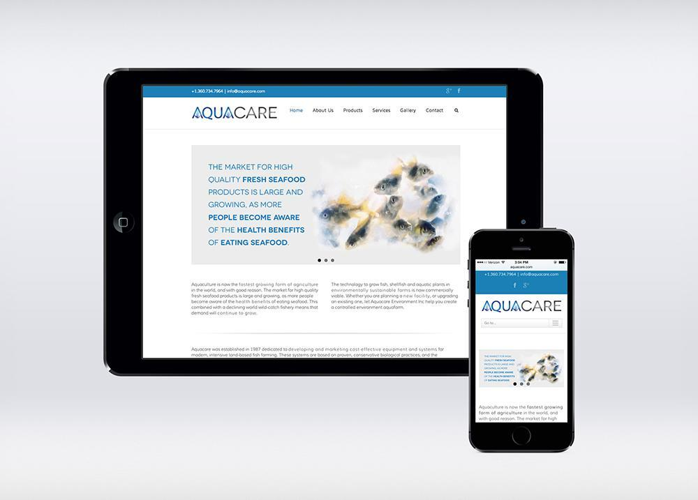 AquaCare Mobile Device UI Design