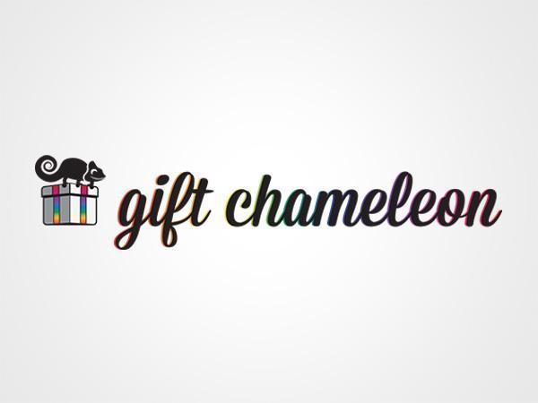 GiftChameleon Logo Design