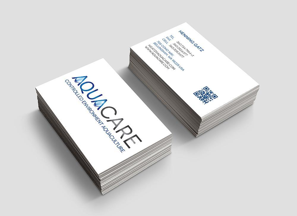 Aqua Care Business Card Design