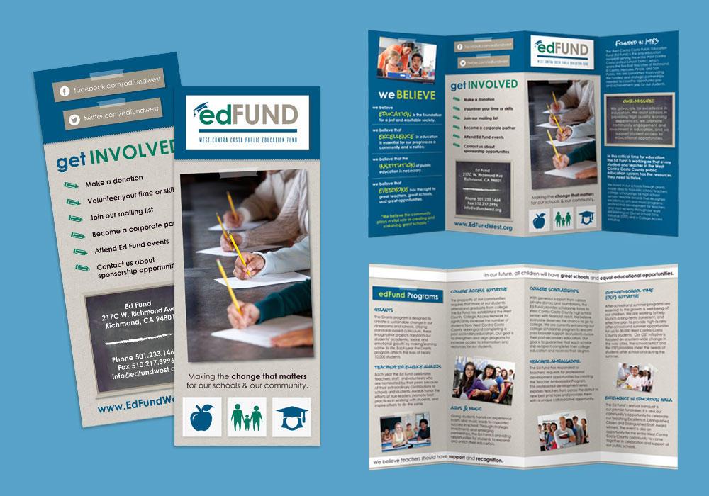 Ed Fund Custom Brochure Design