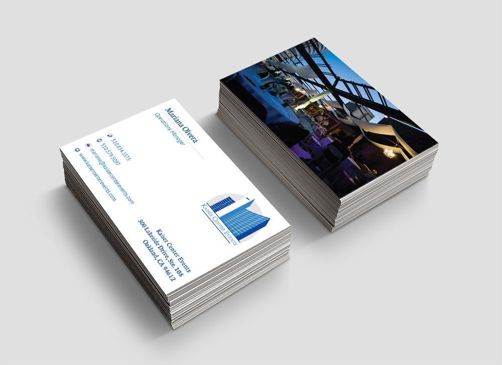 Kaiser Center Business cards