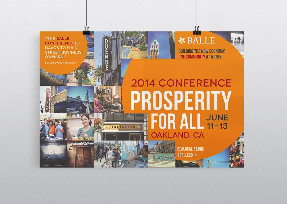 BALLE Conference Branding Poster