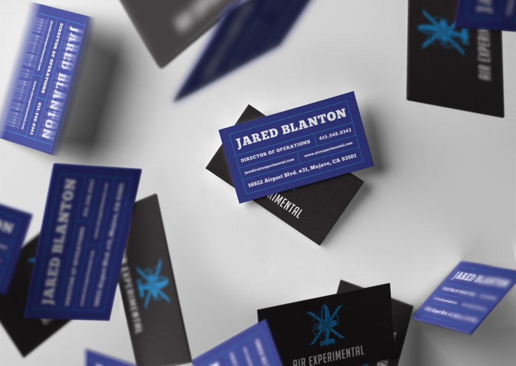 Air Experimental Business Card Design