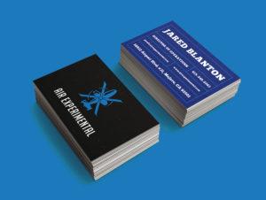 Air Experimental Custom Business Card Design