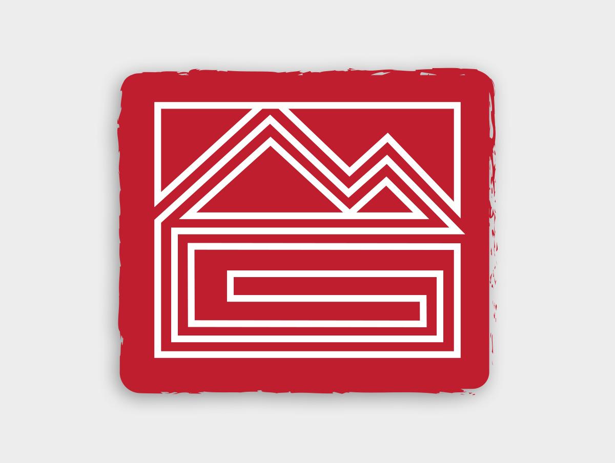 MG Construction icon design