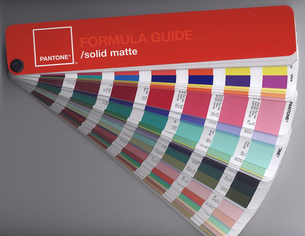 Panton Color Formula Guide Swatches