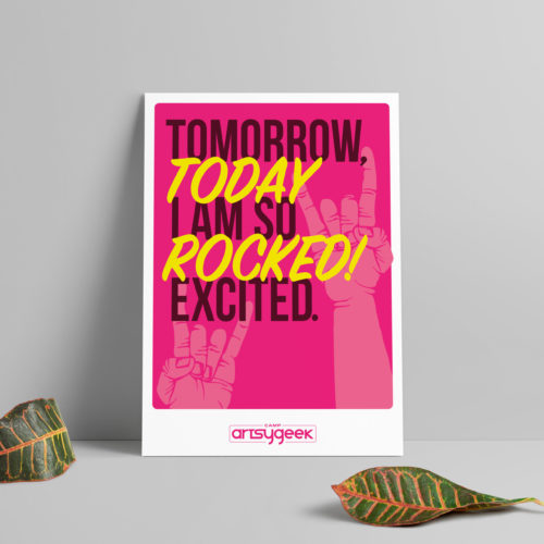 Today Rocked Poster