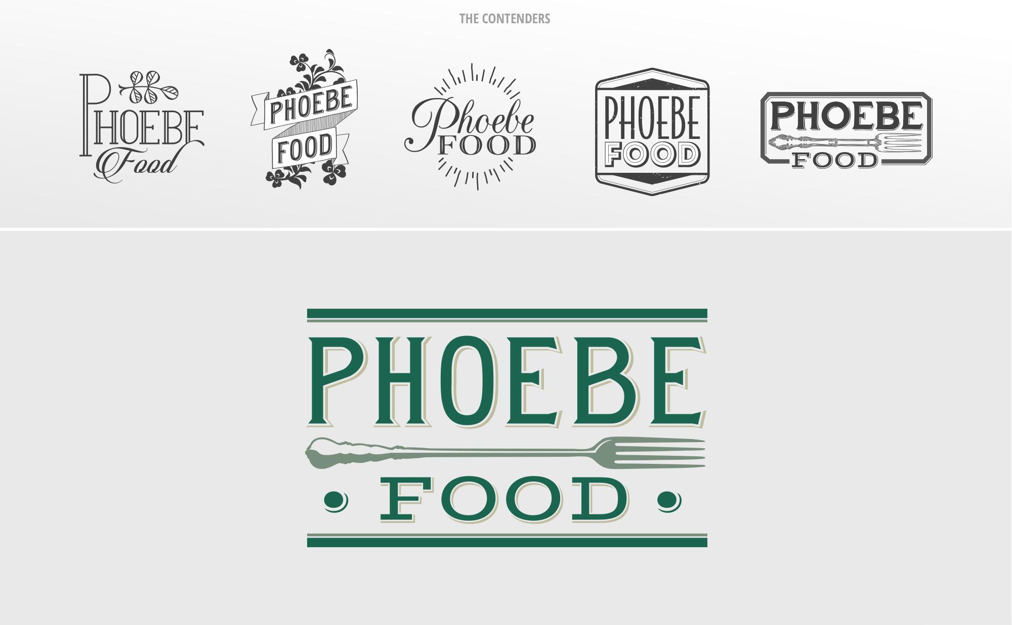 Logo Design for Phoebe Food