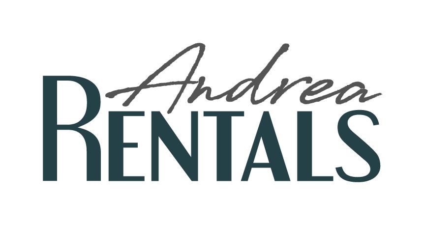 Andrea Rentals winning logo design
