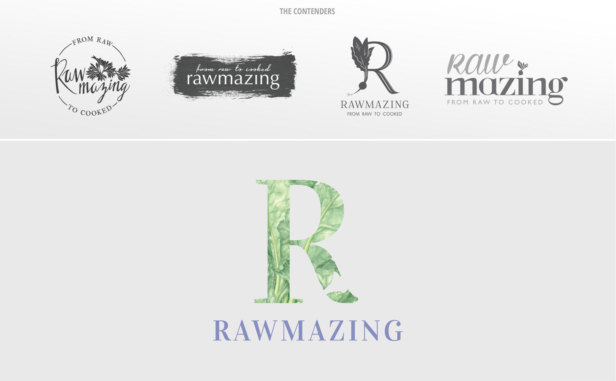 Rawmazing Logo Design