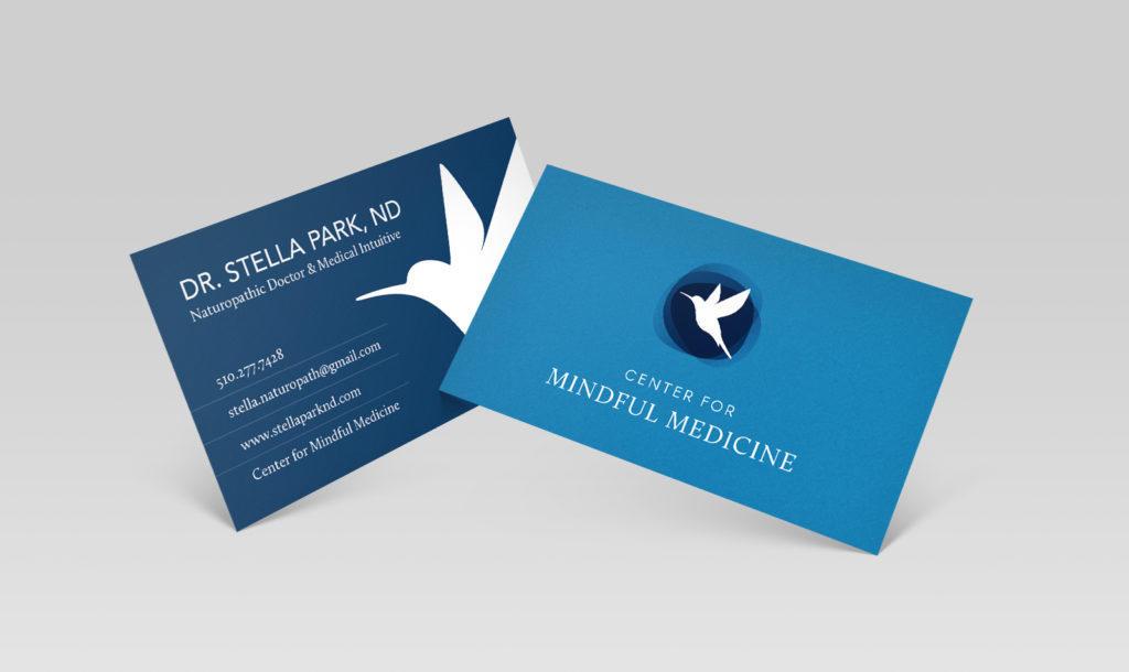 Dr. Stella Park Business Card Design