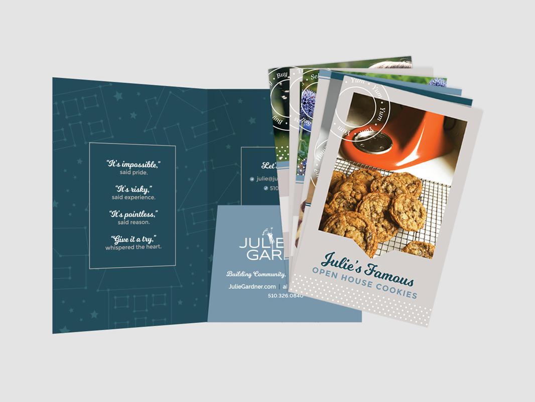 Julie Gardner Marketing Packet Design