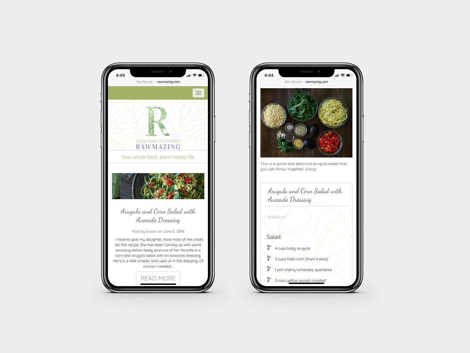 Rawmazing Custom Responsive Website Design & Development