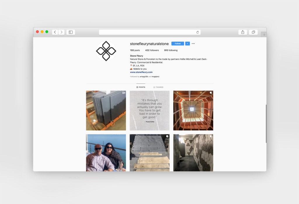 Client Instagram Page