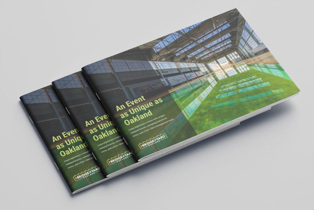 Bridge Yard Oakland sales brochure design