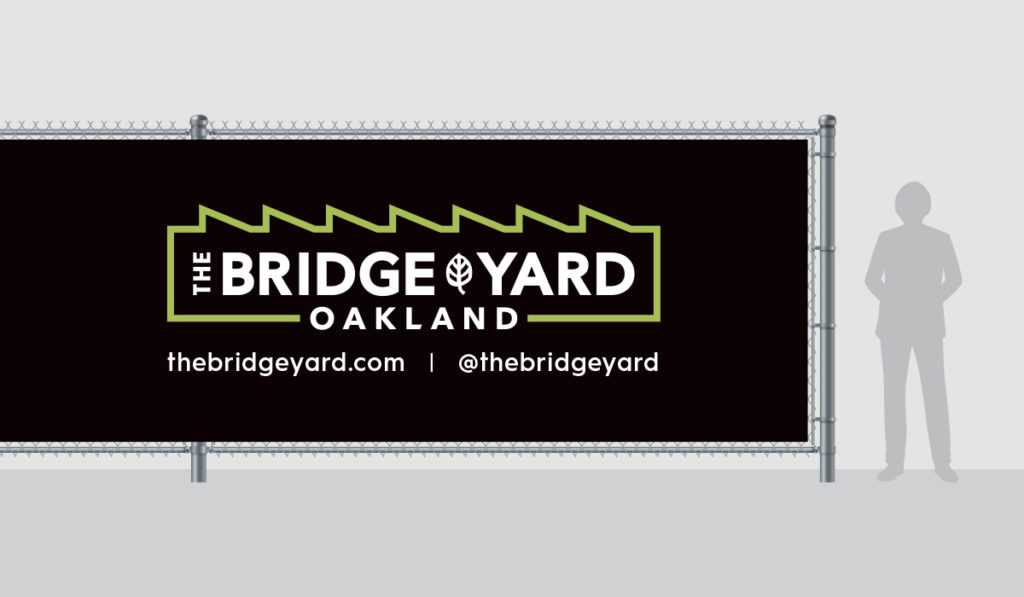 Bridge Yard Oakland Fence Mesh Design