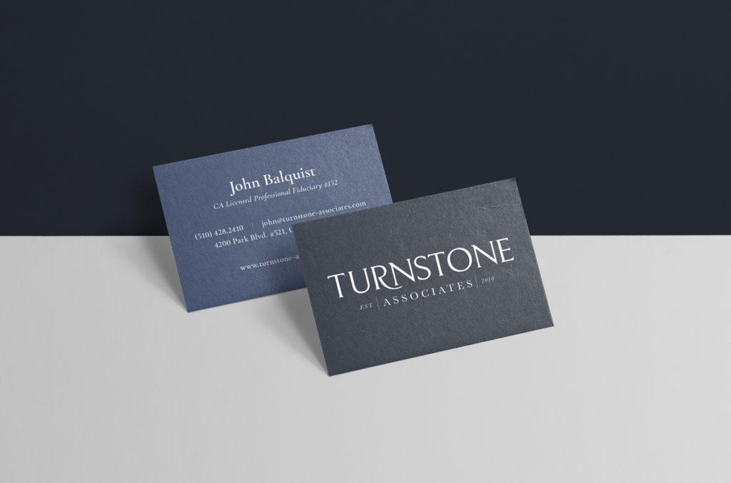 Turnstone Associates business card design