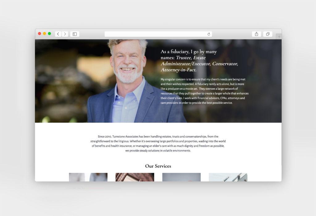 Turnstone Associates website design
