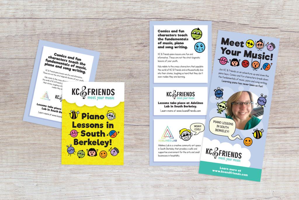 KC & Friends flyer design
