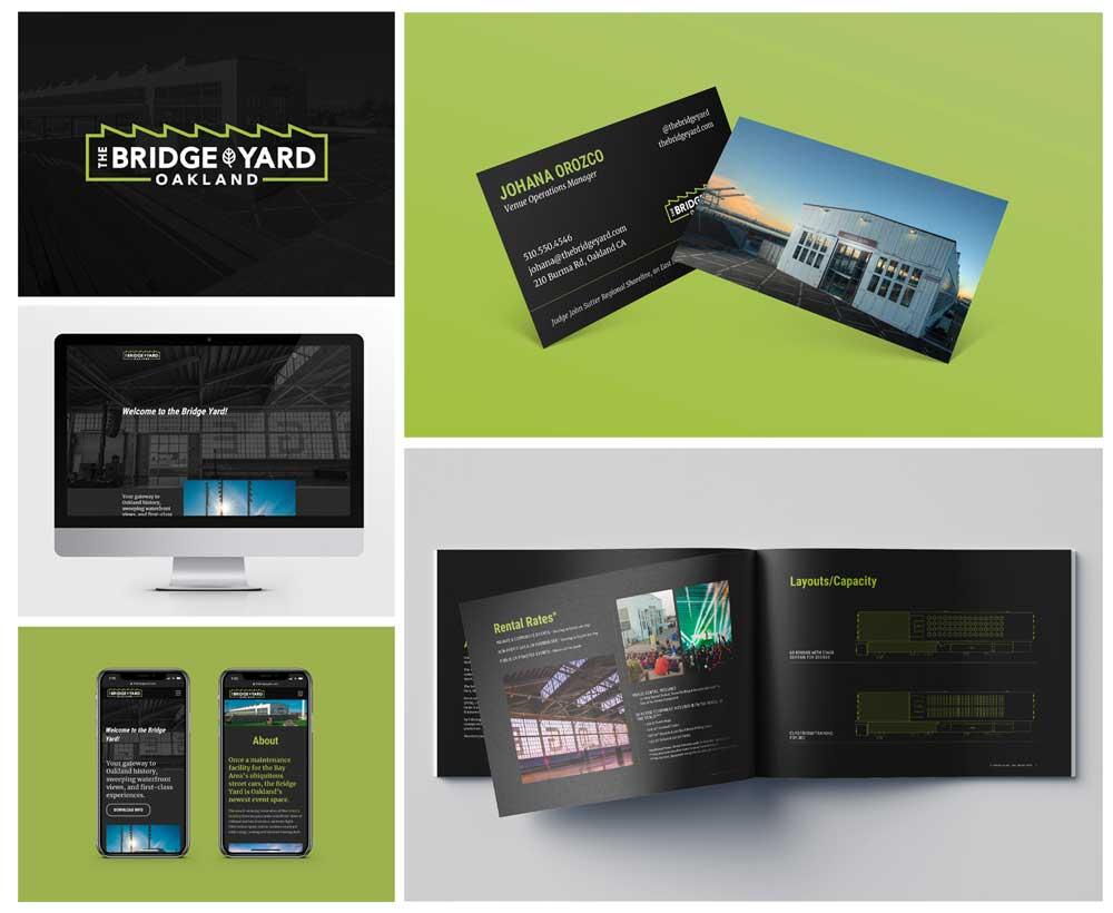The Bridge Yard Branding