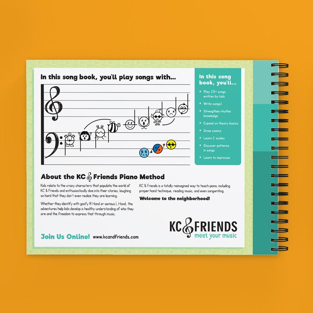 KC & Friends Book Cover Design