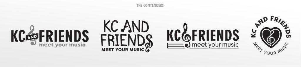 KC & Friends Logo Concepts