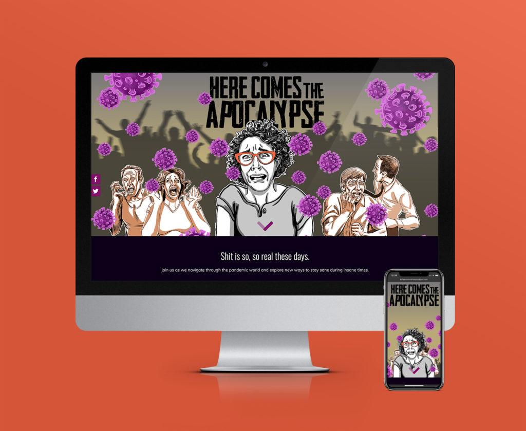 Here Comes the Apocalypse responsive e-commerce website design & development