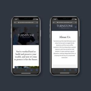 Turnstone Associates Website Design & Development