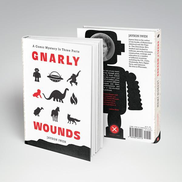 Gnarly Wounds Book Design