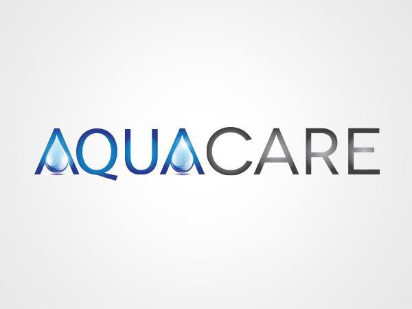 Aquacare logo design